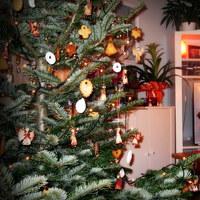 Édes karácsonyfadíszek