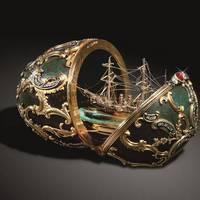 Művészi kinder tojás - A Fabergé