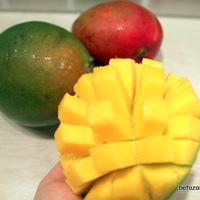 Mangó chutney vörös áfonyával