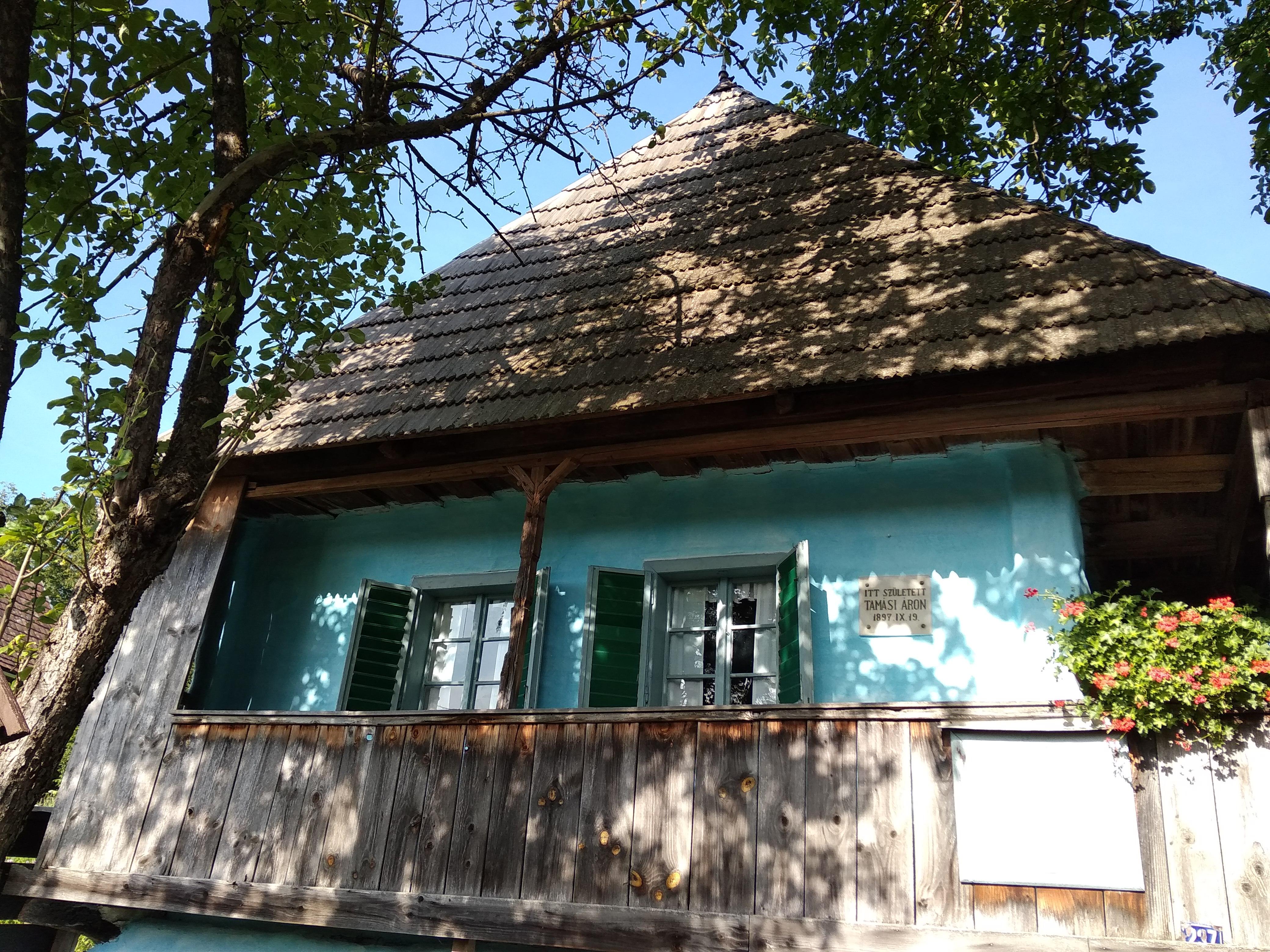 Tamási Áron szülőháza.