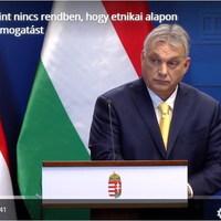 BEKIÁLTÁS: Burkoltan cigányozik Orbán