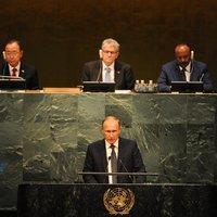 Terroristaellenes koalíciót akar Putyin