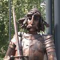 Kihívás ez a Hunyadi-szobor