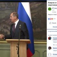 Szíjjártó már megint Moszkvában