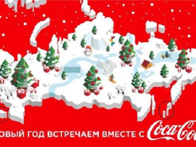 A Coca-Cola az ukrán–orosz viszályban