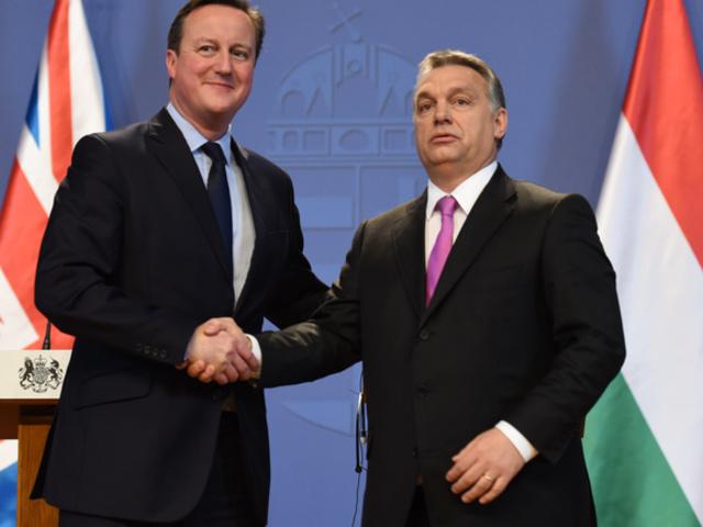 Cameron Orbánnál