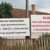 Bekiáltás: Non stop kampány Tiszaeszláron