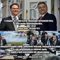Orbán a muszlimok között