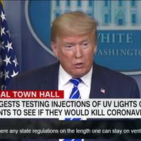 BEKIÁLTÁS: Trump, a vírusölő
