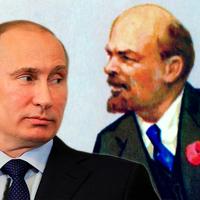 Putyin Lenin atombombájáról
