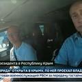 BEKIÁLTÁS: Putyin belakja a Krímet