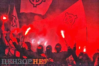 Ukrajna - BanderistaTuntetesКиев УПА 3_2.jpg