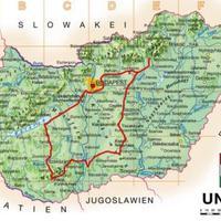 Eger - Pécs - Eger 804 km