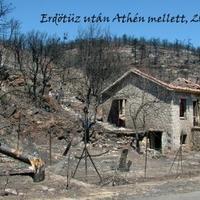 Erdőtűz tombol Athén közelében