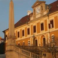 Januári alkonyi napsütés, Pécs, 2010. január 11.