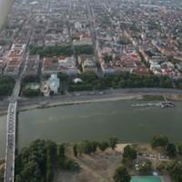 Sétarepülés Szeged felett
