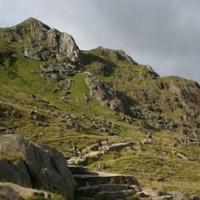 A Snowdon (Yr Wyddfa, 1085 m), Wales teteje