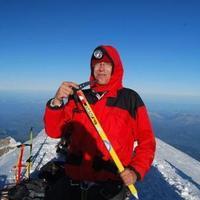 Harsáczki György a Mont Blanc csúcsán!