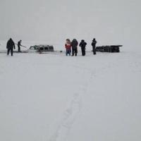 Beszakadt a Balaton jege a Hummerek alatt (Updated!)