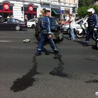 A magyar rendőrmotoros keményebb, mint a vídia
