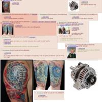 A srác, aki egy turbót akart magára tetováltatni, de nem az lett