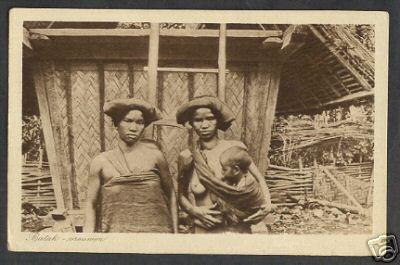 Szumátrai batak asszonyok