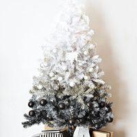 Variációk fekete-fehér karácsonyfára