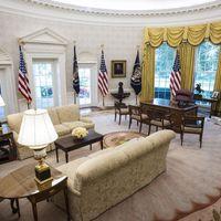 Ilyen lett a Fehér Ház ovális irodája