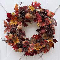 Legszebb ajtódekorok őszre, azaz erre is jó a gesztenye