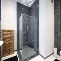 Fekete-fehéren nem unalmas a fürdőszoba