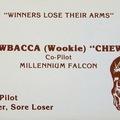 Ilyenek lennének a Star Wars-szereplők névjegykártyái