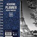 ??VERIFIED?? 2018 Academic Black & White Paris 6.5x8 Weekly Monthly Planner July 2017-June 2018. hours shares Playa Colegio Facebook