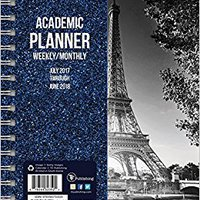 ??VERIFIED?? 2018 Academic Black & White Paris 6.5x8 Weekly Monthly Planner July 2017-June 2018. hours shares Playa Colegio Facebook