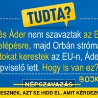 Tudja anno ki nem szavazott hazánk uniós csatlakozása mellett?