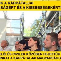 Kiállunk a kárpátaljai magyarságért és a kisebbségekért!