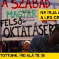 Petíciót indítottunk: Áder János ne írja alá a lex CEU-t!
