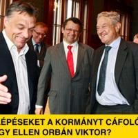 Tesz-e jogi lépéseket a kormányt cáfoló Soros ellen Orbán?