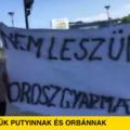 Megüzentük: Nem leszünk orosz gyarmat!