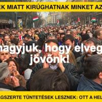 Orbánék miatt kirúghatnak minket az EU-ból: vasárnap tüntetés!