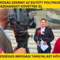 A bíróság szerint az Együtt politikusai garázdaságot követtek el