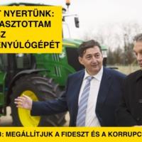 Megakasztottam a Fidesz pénzlenyúlógépét