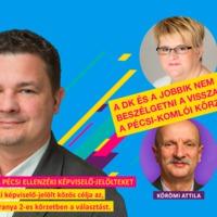A DK és a Jobbik nem akar beszélgetni a visszalépésekről a pécsi-komlói körzetben
