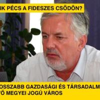 Mennyit bukik Pécs a fideszes csődön?