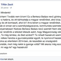 A Fidesz országgyűlési képviselője által felhergelt választók már akasztanának is (engem)