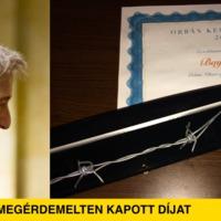Bayer végre megérdemelten kapott díjat
