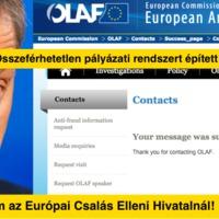 Bejelentést tettem az Európai Csalás ElleniHivatalnál