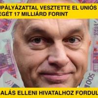 Kamupályázattal vesztette el uniós pénz jellegét 17 milliárd forint