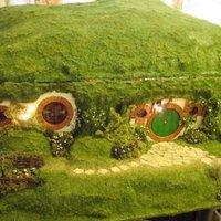 Mini hobbitház készítése