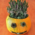 Vidám, őszi tök dekoráció készítése