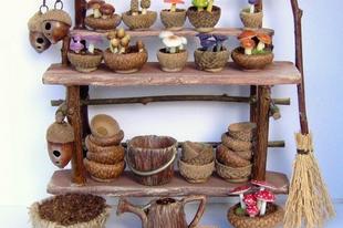 Makkból készíthető tündérkerti kiegészítők